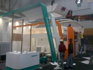 exhibition stands custom